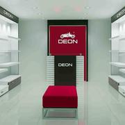 现代简约风格展柜柜台
