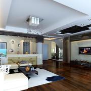 现代简约风格客厅家居装饰