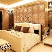 卧室艺术背景墙设计