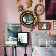 小户型卧室床头背景墙设计