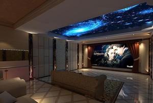 欧式家庭影院沙发设计