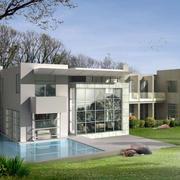别墅外观设计图片