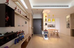 童心梦想基地:朝气活力的120平米家居装修效果图