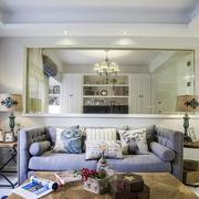 两室一厅沙发背景墙装修