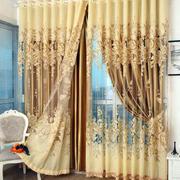 欧式奢华别墅窗帘设计
