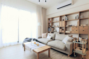 空间有限魅力无限的公寓客厅装修效果图