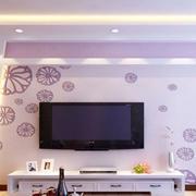 现代简约风格电视背景墙