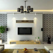 石膏板电视背景墙