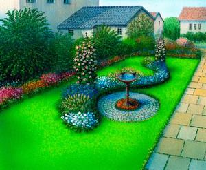 精巧好看的花坛设计装修效果图