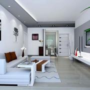 现代简约风格室内吊顶设计