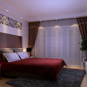 两室一厅简约风格卧室装饰