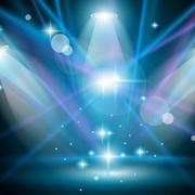 创意耀眼舞台灯饰设计
