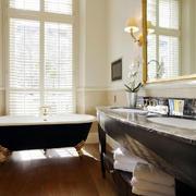 欧式卫生间浴缸装修