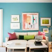 混搭风格书房沙发设计