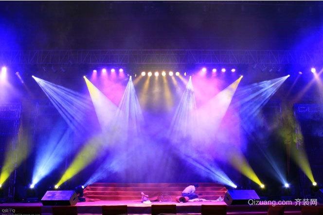 让人热血沸腾的舞台背景设计装修效果图