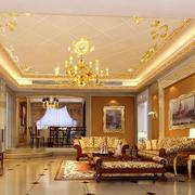 欧式别墅家居沙发设计
