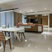 两室一厅客厅餐桌设计