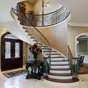 别墅中式楼梯装饰