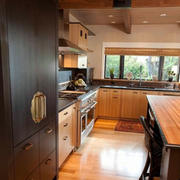中式木制厨房设计