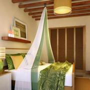 东南亚风格卧室吊顶装修