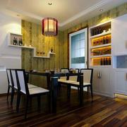小户型餐厅桌椅设计