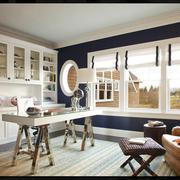 两室一厅北欧风格书房飘窗设计