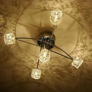 美式创意水晶灯装修