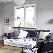 样板房混搭风格客厅沙发设计