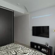 老屋卧室电视背景墙