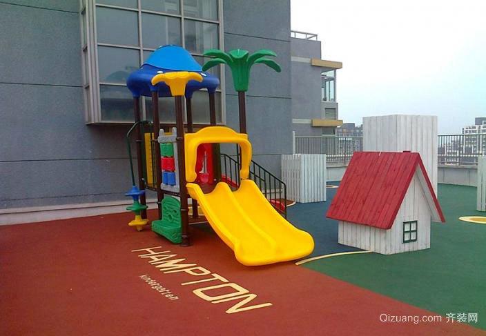 幼儿园橡胶地垫装修效果图