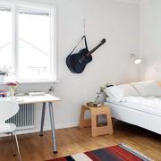 混搭风格样板房卧室装修