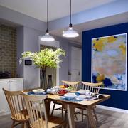 别墅混搭风格餐厅背景墙设计
