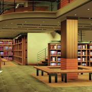 简约复式书店装修