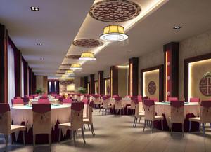 餐厅大型圆桌装修
