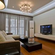 现代简约风格客厅灯饰设计