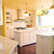 欧式混搭风格厨房装饰