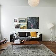 单身公寓简约客厅装饰