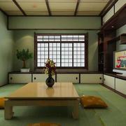 日式深色系书房装饰