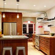 后现代风格室内厨房设计