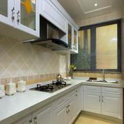 小户型L型小厨房设计