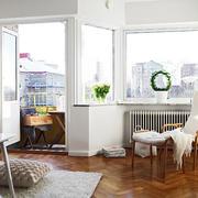 小户型客厅阳台装饰