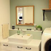 日式公寓洗手间装修