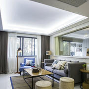 两室一厅客厅沙发设计