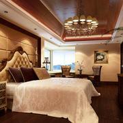 欧式卧室软包墙装修
