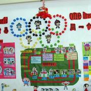 简约大型幼儿园墙饰装饰