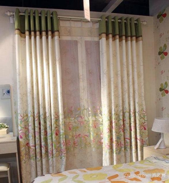 质地较好的高档窗帘装修效果图
