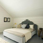 简约石膏板卧室背景墙设计