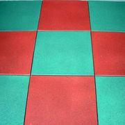 幼儿园拼色橡胶装饰