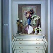 别墅欧式玄关鞋柜设计