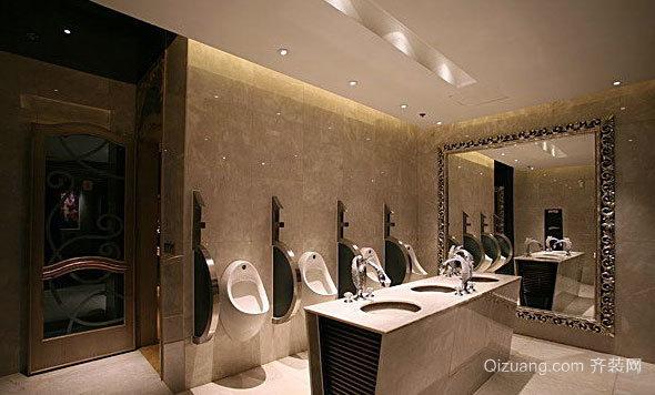 环境不差的公共厕所装修效果图